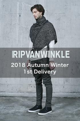 RIPVANWINKLE 18AW New Ariival!