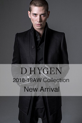 D.Hygen(SADDAM TEISSY) 18-19AW New Arrival