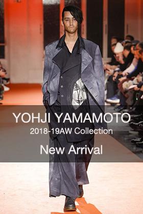 Yohji Yamamoto 18AW New Arrivall