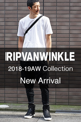 RIPVANWINKLE 18-19AW Collection New Arrival