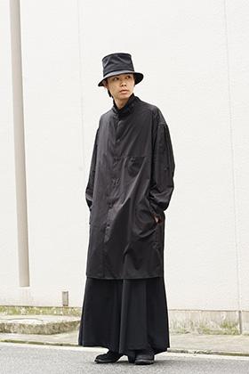Yohji Yamamoto Stand double loop sewing shirt Style