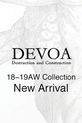 DEVOA 18-19AW 3rd Delivery