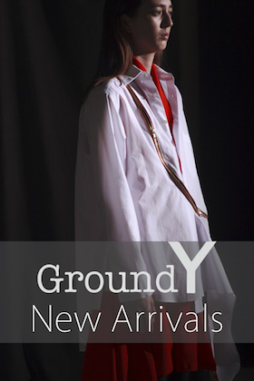 Ground Y 18-19AW 1st Delivery !!