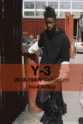 Y-3 18AW Collection New Arrival!