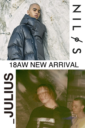 JULIUS & Nilos 2018-19AW Collection New Arrival!!