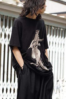 Yohji Yamamoto Jersey stitch Nude Woman Tshirt Style