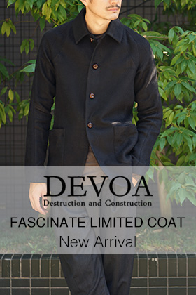 DEVOA FASCINATE LIMITED COAT FW18-19 180901