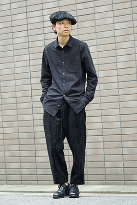 individual sentiments 18-19AW Early Autumn Shirts Style