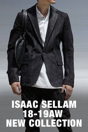 ISAAC SELLAM 2018-19AW Collection Release!