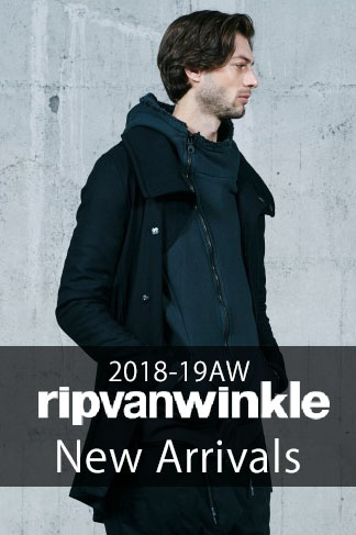 RIPVANWINKLE 2018AW 3rd Delivery