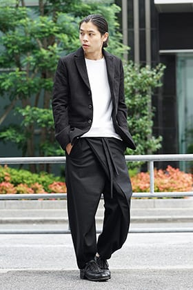 individual sentiments 18-19AW Early Autumn Jacket Style