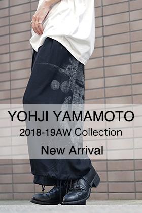 Yohji Yamamoto 18AW New Arrival!