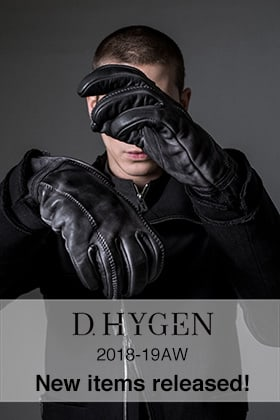 D.Hygen(SADDAM TEISSY) 18-19AW New items released!