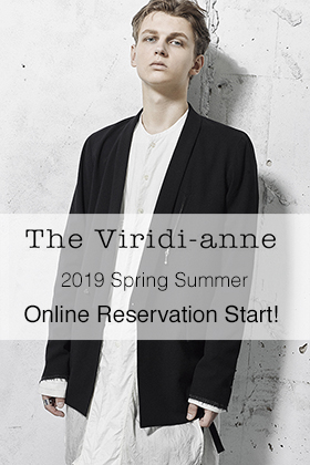 The Viridi-anne 19SS Collection Online Reservation Start!