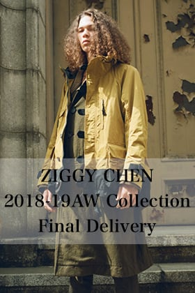 ZIGGY CHEN 18-19AW Collection Final Delivery!