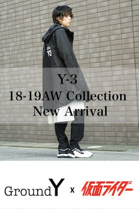 Y-3 New Arrival!| Ground Y x KAMEN RIDER