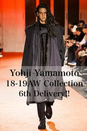 Yohji Yamamoto 18AW 6th Delivery!!