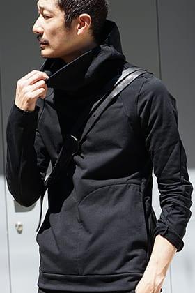 DEVOA Hooded parka Cotton Stretch Jersey Style