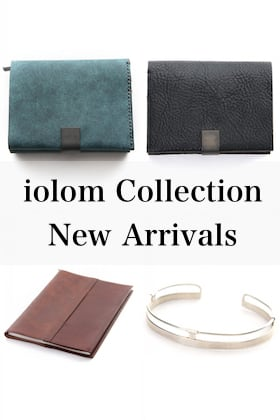 iolom New Collection [ Wallet / Book Cover / Bracelet ]
