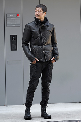 Isaac Sellam Leather Down Jacket Style