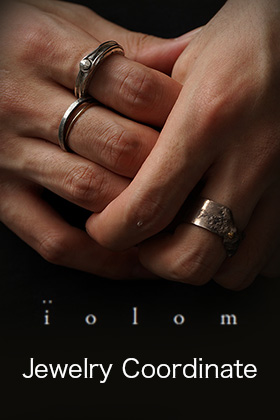 iolom Jewelry Coordinate Necklace and Ring
