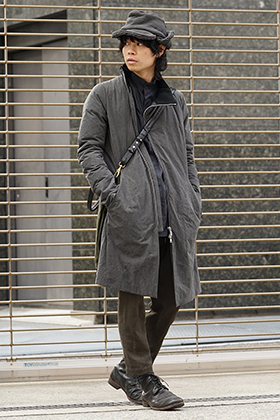 D.hygen High Neck Down Coat Style