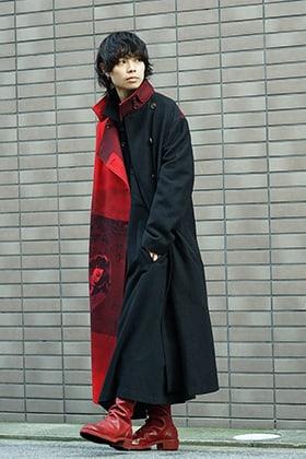 Yohji Yamamoto 18AW and GUIDI Red Color Style