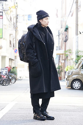 Yohji Yamamoto 18AW NewEra Mix Style