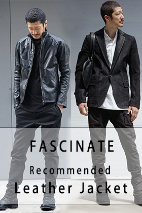 FASCINATE 18-19AW Recommended Leather Jacket