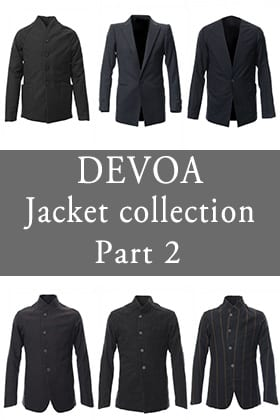 DEVOA 18-19AW Jacket Collection Part 2