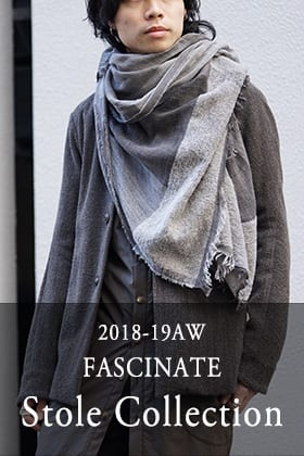 18-19AW FASCINATE Stole Collection