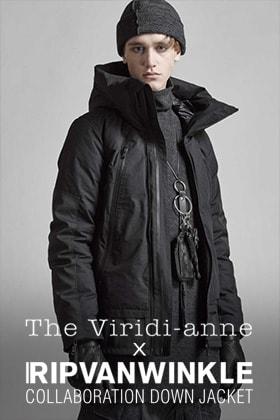 The Viridi-anne x Ripvanwinkle collaboration down Jacket