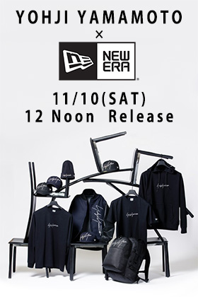 [Release Date Notice] Yohji Yamamoto × New Era Releasing on 11th November 12 Noon