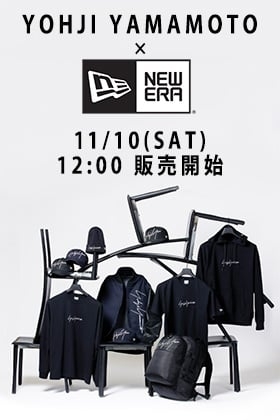 [公開予告]Yohji Yamamoto × New Era 11月10日 正午12時販売開始