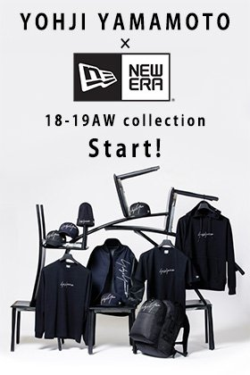 YOHJI YAMAMOTO x NEW ERA Collaboration series Release!