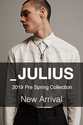 JULIUS 19 Pre Spring Collection New Arrival