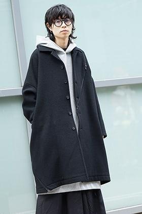 B YY x Yohji Yamamoto Casual Like Coat Style
