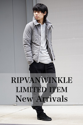 RIPVANWINKLE 18-19AW Limited Item New Arrivals!!