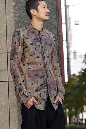 DEVOA Long sleeve shirt Shinsaku Nagata x DEVOA Style