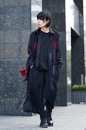 Yohji Yamamoto x B YY Mix Style