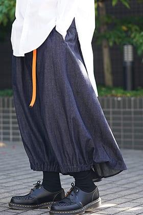 Yohji Yamamoto 19SS 8oz Denim KARASU Pants Style