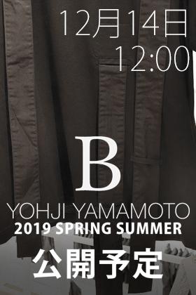[公開予告]B Yohji Yamamoto