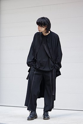 B YY x YY 19SS Hang sash T and Slip pants