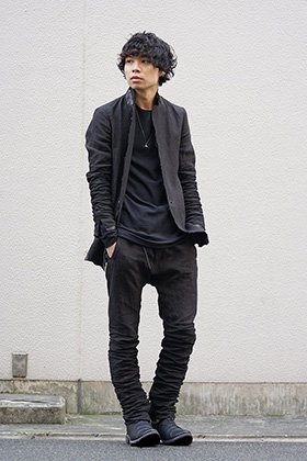 D.hygen 19SS Linen Set up style