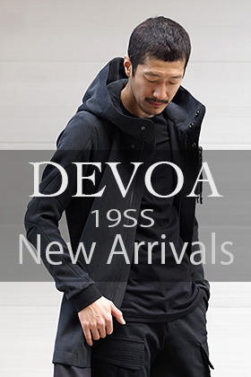 DEVOA 19SS 2nd delivery New Arrival!