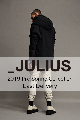 JULIUS 2019 Pre Spring Collection Last Delivery