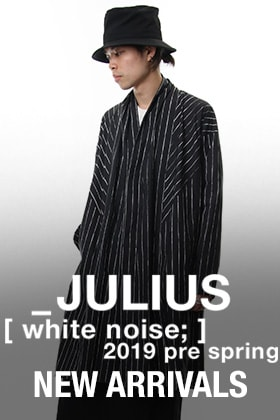 JULIUS 2019 Pre Spring Collection New Arrival