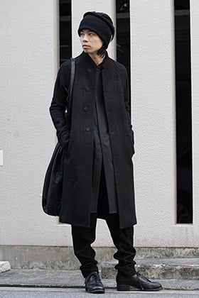 DEVOA 18-19AW Coat and Long Shirts Style