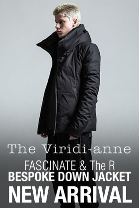 Online Reservations Start! The Viridi-anne Fas-Group Bespoke Down Jacket