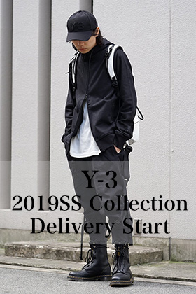 Y-3 2019SS Collection Delivery Start!!